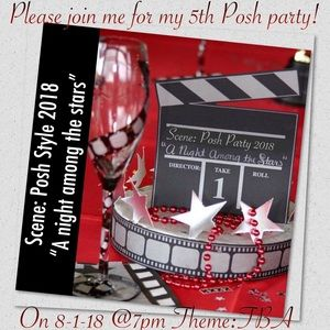 Other - Please join me for my 5th posh party!!